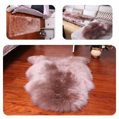 Large Soft Sheepskin Rug Home Sofa Chair Cover Warm Hairy Carpet Seat Pad Carpet