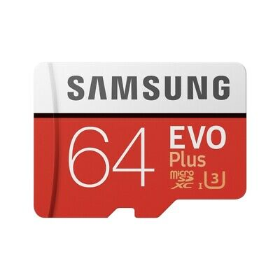 Samsung Memory 64GB EVO Plus Micro SD card with Adapter