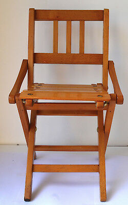 Brevetti Reguitti Italy,  Folding Chair Doll, Child great condition, marked