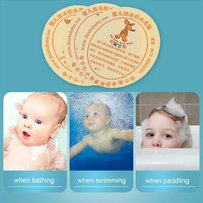 10pcs Baby Girls Boys Disposable Bath Swimming Waterproof Ears Stickers Earplugs