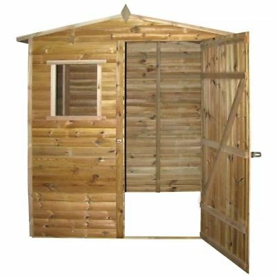 Garden Tool Shed Storage House Log Timber Cabin Impregnated Pinewood 1.5x2 m new