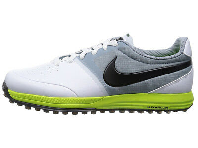 Nike Lunar Mont Royal Golf Shoes - White/Black