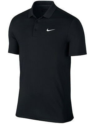 Nike Victory Solid LC Polo - Black