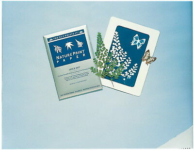 Nature Print Printing Paper - the Sun Prints it, 5 X 7 in, Pack of 40