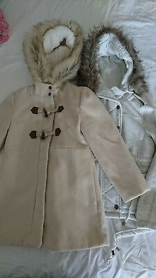 Girls Size 8 winter Jackets EUC Target and surf brand used