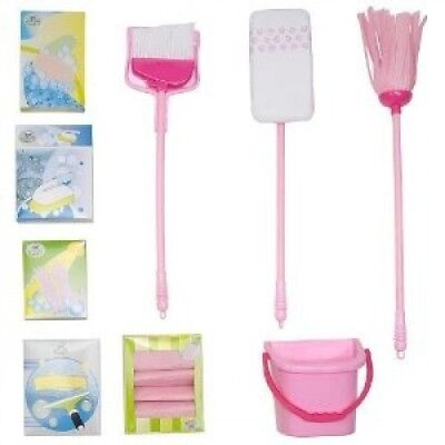 Home Deluxe Cleaning Set - Pink. Just Like Home. Brand New