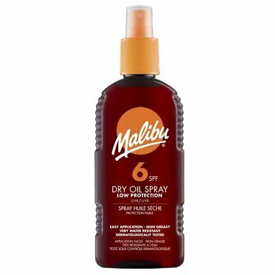 Malibu Sun Dry Oil Spray with SPF 6 200ml