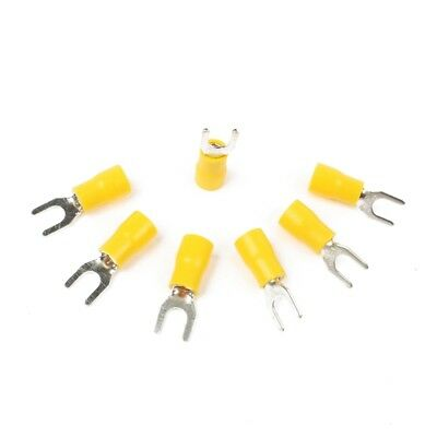 SV5.5-5 Pre Insulated Fork Terminal for AWG 12-10 Wire and #10 Stud, 500 Pi F2Q2