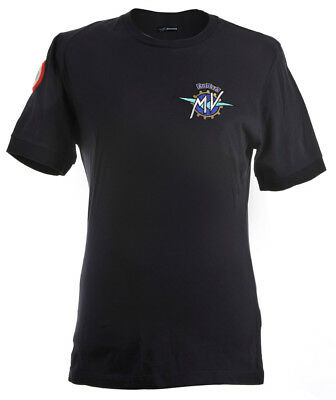 "Original MV Agusta T-Shirt Shirt Original ""Institutional"" blau Shirt kurzarm"