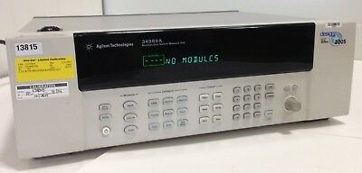 AGILENT TECHNOLOGIES 34980A Multifunction Switch / Measure Unit Calibrated 2014