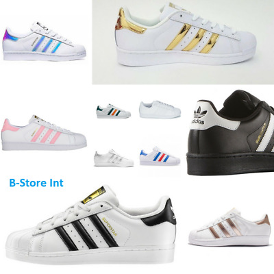 Adidas Superstar Originals Scarpe da ginnastica Donna Uomo Shoes Sneakers