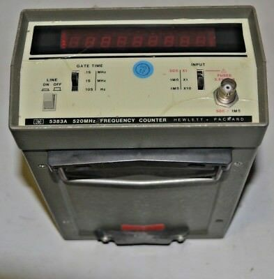 HEWLETT PACKARD HP 5383A 500MHz FREQUENCY COUNTER.USED.