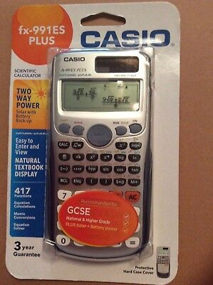 Casio fx-991ESPLUS Scientific Calculator Brand New and Sealed-great for exams