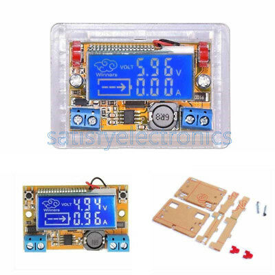 NEW DC-DC Step Down Power Supply Adjustable Push-button Module with LCD Display
