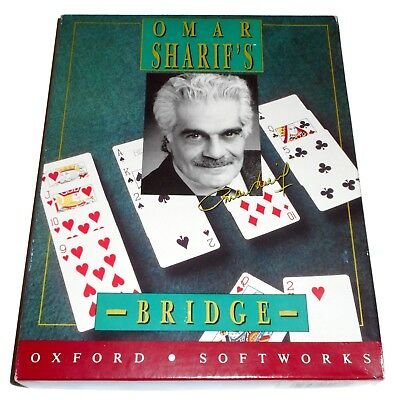 Omar Sharif's Bridge (Oxford Softworks) (Amiga) (1992) [ECS/OCS] (Tested OK)