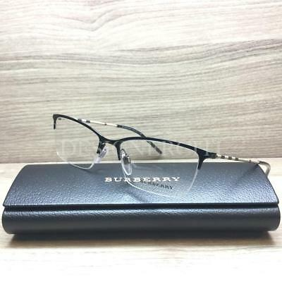 532425835e BURBERRY BE 1278 Eyeglasses Black 1001 Authentic 53mm -  144.95 ...