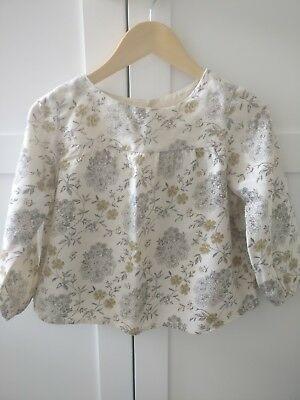 Bonpoint blouse, excellent condition, size 4 years