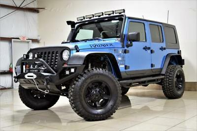 2010 Jeep Wrangler LIFTED 4X4 AFARI JEEP WRANGLER UNLIMITED LIFTED 4X4 FULLY CUSTOM WINCH LED FREE SHIPPING
