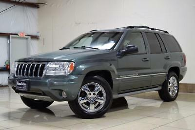 Grand Cherokee Overland 2004 JEEP GRAND CHEROKEE 4X4 ONLY 65K MILES NAV GARAGE KEPT QUADRA DRIVE