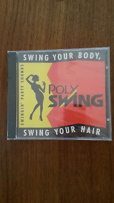 CD:POLY SWING-Swing your body-swing your hair-Party sounds-henkel cosmetic D'dor