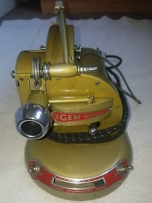 VINTAGE PATHESCOPE ' GEM' 9.5 mm CINE PROJECTOR WITH CASE.