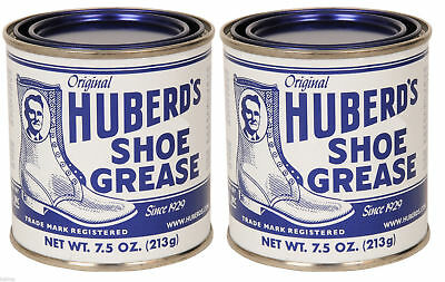 Huberd's Shoe Grease - 7 Ounces, 2 Pack