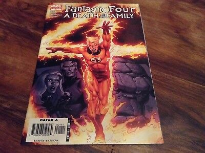 Fantastic Four A Death In The Family #1 Marvel comics One Shot