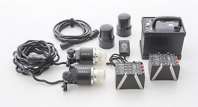 Profoto Pro 7B 1200ws Power Supply With 2 ProB Head Kit Gently Used Hard Working