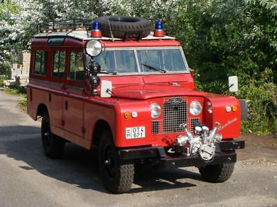 1965 Land Rover Other  Land Rover 109 Series IIa Fire engine 1965