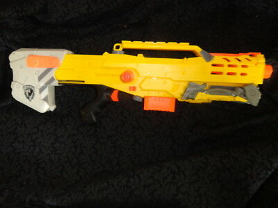 Nerf N-Strike Yellow Longshot CS-6 Sniper Rifle Dart Gun (Main Gun)FREE SHIPPING