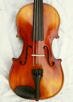 Nice Violin Labelled Frantisek Karel Kriz 1926 ready to play with case, bow and
