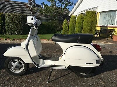 Vespa PX125, one owner, low mileage