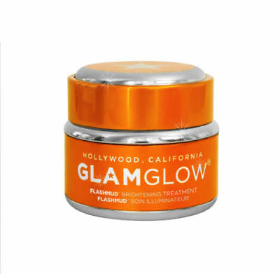 GLAMGLOW FLASHMUD Brightening Treatment Large Jar 1.7oz New/Boxed