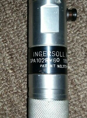 Ingersoll Rand -Pneumatic In-Line Nut Runner-1100 Rpm,reverse,spa102Rm60