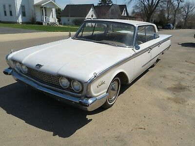 1960 Ford Galaxie  1960 FORD GALAXIE TOWN VICTORIA HARDTOP SEE VIDEO SOLID 57 58 59 61 62 63 64 65