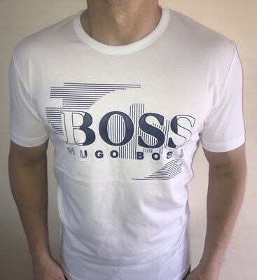 2b30dc894aa HUGO BOSS T Shirt Men s Size XXL White BNWT NEW  green Label ...