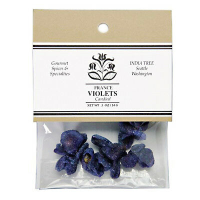India Tree Candied Flowers - Violets