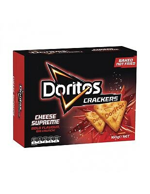 Doritos Crackers Cheese Supreme 160g