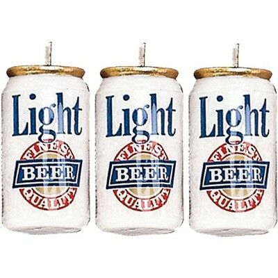 Wilton Candle Set - Beer Cans