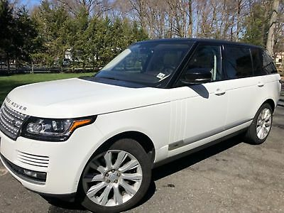 Land Rover Range Rover Supercharged LONG WHEEL BASE 2015 RANGE ROVER V8 SUPERCHARCHARGED LONG WHEEL BASE $124K MSRP FREE SHIPPING