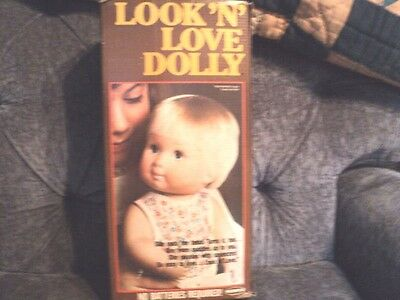 Look 'n' Love Dolly By Remco -- 1978 New In Box!!