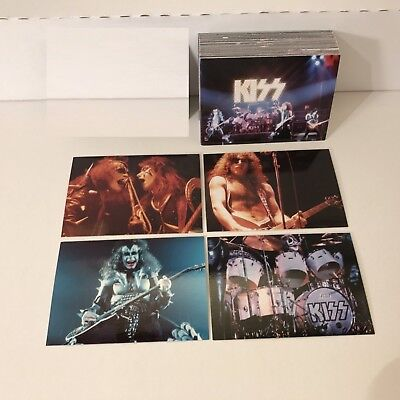 KISS Alive - Complete Trading Card Set (72) - NECA 2001 - NM
