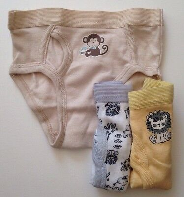 New 3 Pack Little Me Toddler Boys Briefs Size 4T