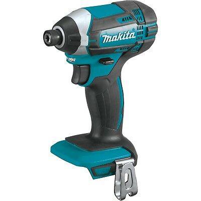 Makita XDT11Z Cordless Impact Driver 1/4 in. 18V LXT replaces the XDT04Z