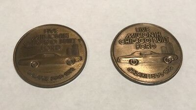 2 Ford Anniversary Coins