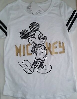 DISNEY MINNIE MICKEY MOUSE Licensed Girl tee t shirt top NEW sz 10 , 12