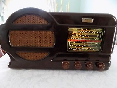 1948 Tecnico Aristocrat Model 851 Radio Working In Very Good Condition For Age