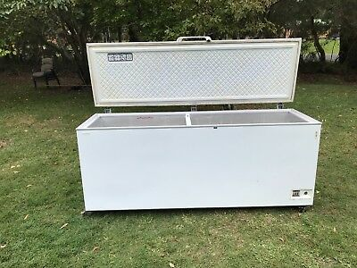 Commercial chest freezer, 700 litres, great for fisho to store bait & catch
