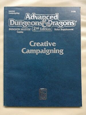 AD&D 2nd Edition - Creative Campaigning