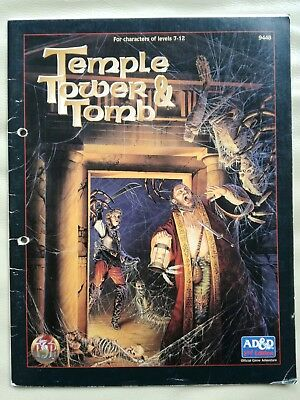 AD&D 2nd Edition - Temple, Tower & Tomb